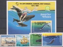 UPU - TURKS & CAICOS - S/S+Set MNH - Correo Postal