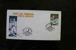 Malta 1994 25th Anniversary Moon Landing Souvenir Cover A04s - Malta