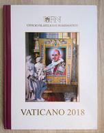 Vatican 2018 - Year Book. Città Del Vaticano Vatikan Vaticaan Jahressatz Bund-Jahrgang Pochette Annuelle Jahrbuch - Full Years