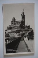 #174 AK: MARSEILLE Notre-Dame De La Garde Um 1943 - Non Classificati