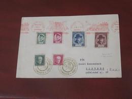 Tchécoslovaquie  LETTRE  Du 07 III 1935  De Prague Pour Liberec Série 292 à 295 , 267 à 269 - Covers & Documents