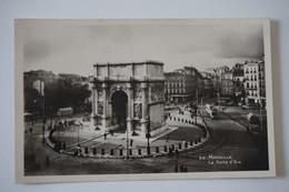 #175 AK: MARSEILLE La Porte D'Aix Um 1943 - Non Classificati