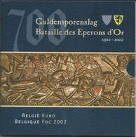 België/Belgique 2002 : Guldensporen/Eperons D'or. - Belgium