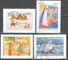 Poland 2003 - My Dreamed Vacation - Mi 4056-59 - Used - Usados