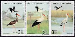Turkey - 2020 - Birds - Storks - Mint Stamp Set - Unused Stamps