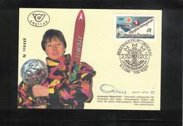 Austria / Oesterreich 1994 Olympic Games Lillehammer Annemarie Moser - Proell Interesting Postcard - Winter 1994: Lillehammer