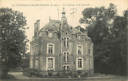 76 - La Neuville Champ D'Oisel - Le Château De La Neuville - CPA - Voir Scans Recto-Verso - Francia
