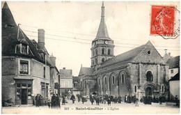 36 SAINT-GAULTIER - L'église - Autres Communes
