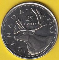 CANADA - 2020 Circulating 25¢ Coin (*) - Canada