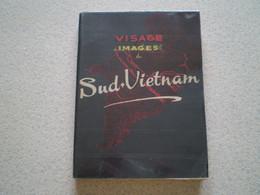 Livre Visage & Images Du Sud Vietnam; Photos En N&b + Carte Géo - Geografía