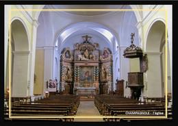 39  CHAMPAGNOLE   ... Interieur De L'église - Champagnole