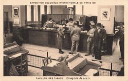 75 Paris Exposition Coloniale 1931 Pavillon Des Tabacs Comptoir De Vente - Tentoonstellingen