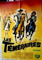 Aff Ciné Orig LES TEMERAIRES THE RAIDERS Robert Culp Brian Keith 1963 Illus Xarrié 80X60 - Affiches & Posters