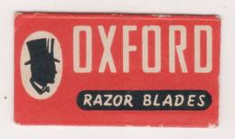 OXFORD  RAZOR  BLADE - Razor Blades