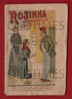PORTUGAL - ROSINHA VENDEORA DE CAUTELAS - BRINDE DA FABRICA DE DROPS E BOMBONS COSTA E JUNOY - 1902 MINI BOOK - Junior