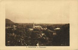 PC CPA SAMOA, PACIFIC, MOAMOA, PANORAMA, Vintage Postcard (b19447) - Samoa