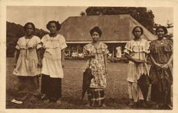PC CPA SAMOA, PACIFIC, JEUNES ELÉVES DES SCEURS D'APIA, Postcard (b19464) - Samoa