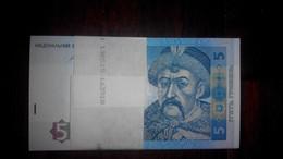Ukraine - 100 Pcs X 5 Hryven 2015 UNC Bundle Lemberg-Zp - Oekraïne