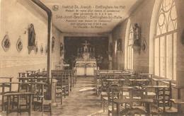 Bellinghen-bij-Halle : Institut St. Joseph/rusthuis Voor Dames En Kostschool Voor Jongetjes Van 3 Tot 9 Jaar./ Kapel - Halle