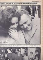 (pagine-pages)LIZ TAYLOR E RICHARD BURTON    Oggi1968/32. - Andere