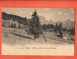 ZCC-23 Villars Sur Ollon Hotel Du Parc Et Grand Muveran. Circulé 1907 Vers Bex  Jullien 2799 - VD Vaud