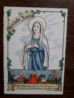 L31/524 BARRE DAYEZ - Les Saints Patrons - SAINTE ANNE . Patronne Des Couturieres , Lingeres , Dentellieres ..... - Otros Ilustradores
