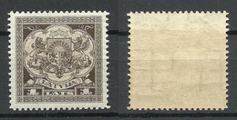 LETTLAND Latvia 1928 Michel 123 MNH - Lettland