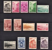 MONACO 1948 - SERIE 13 TP NEUFS** / Y.T.  N° 307 A 313C - Nuovi