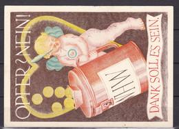 Deutsches Reich - 1939 -  Propagandakarte - WINTERHILFSWERK - Gebruikt