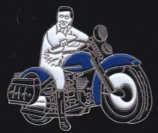 67632-Pin's.Moto.peut Etre Coluche. - Motorfietsen