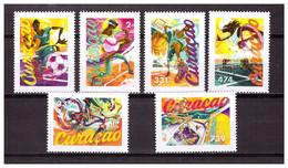Antilles / Curacao 2020 Sport Soccer Tennis Basketball Baseball Cycling MNH - Curaçao, Nederlandse Antillen, Aruba