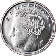 Monnaie, Belgique, Franc, 1990, SPL+, Nickel Plated Iron, KM:171 - 04. 1 Franc