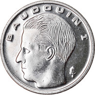 Monnaie, Belgique, Franc, 1990, SPL+, Nickel Plated Iron, KM:170 - 04. 1 Franc