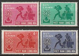 Vietnam 1960 Sc 132-5  Set MNH/MLH - Vietnam
