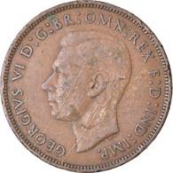 Monnaie, Grande-Bretagne, George VI, Penny, 1939, TB+, Bronze, KM:845 - 1902-1971 : Monete Post-Vittoriane