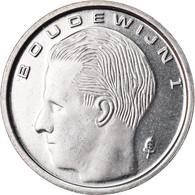Monnaie, Belgique, Franc, 1993, SPL+, Nickel Plated Iron, KM:171 - 04. 1 Franc