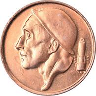 Monnaie, Belgique, Baudouin I, 50 Centimes, 1990, FDC, Bronze, KM:148.1 - 03. 50 Centimos