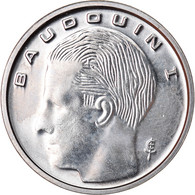 Monnaie, Belgique, Franc, 1989, SPL+, Nickel Plated Iron, KM:170 - 04. 1 Franc