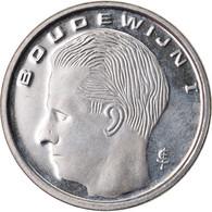 Monnaie, Belgique, Franc, 1990, FDC, Nickel Plated Iron, KM:171 - 04. 1 Franc