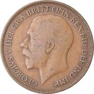 Monnaie, Grande-Bretagne, George V, Penny, 1915, TB+, Bronze, KM:810 - 1902-1971 : Monete Post-Vittoriane