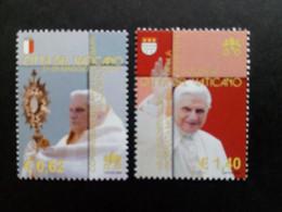 VATIKAN MI-NR. 1558-1559 POSTFRISCH(MINT) PAPSTREISEN VON BENEDIKT XVI 2006 - Nuevos