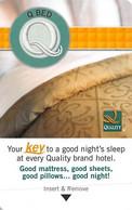 Quality - Hotel Room Key Card - Hotelkarten