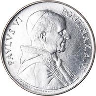 Monnaie, Cité Du Vatican, Paul VI, 50 Lire, 1968, Roma, SPL, Stainless Steel - Vaticaanstad
