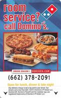 Domino's Pizza - Hotel Room Key Card - Hotelkarten
