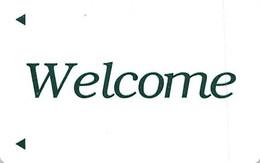 Generic Welcome - Hotel Room Key Card - Hotelkarten