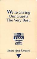 ESI TESA - Hotel Room Key Card - CPICA 09/00 - Hotelkarten