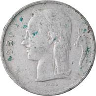 Monnaie, Belgique, Franc, 1951, TB+, Copper-nickel, KM:143.1 - 04. 1 Franc