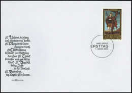 2004, Liechtenstein, 1341-46, FDC - Zonder Classificatie