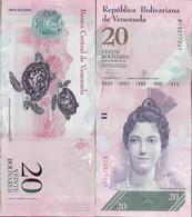 Venezuela 2013 - 20 Bolivares - Pick 91 UNC - Venezuela