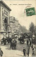 PARIS Boulevard  St DENIS   Recto Verso - Distretto: 10